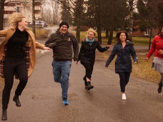 Vernepleierstudenter fra Høgskolen i Oslo og Akershus