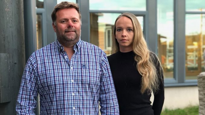 Jørn Arve Vold og Malin Thøgersen.