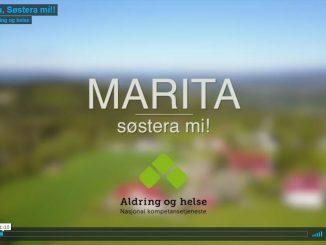 Marita, søstera mi!