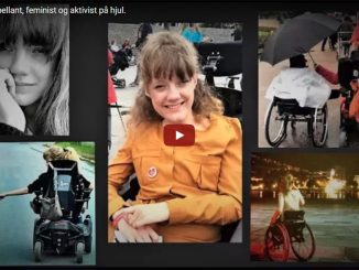 Marianne - appellant, feminist og aktivist på hjul.