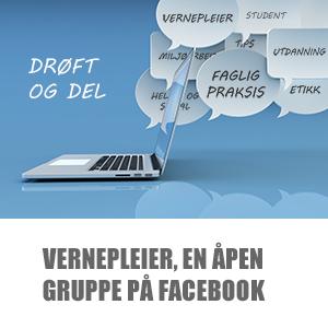 Vernepleier, en åpen gruppe på Facebook width=