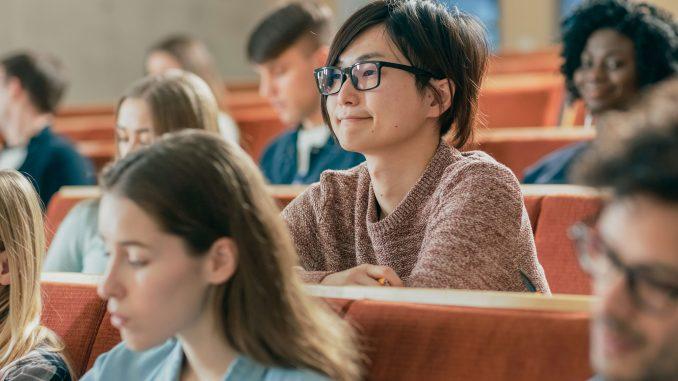 Studenter på forelesning