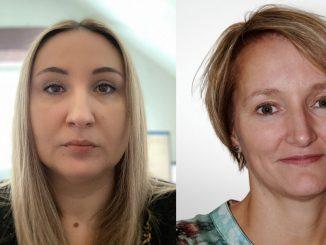 To damer Sadeta Demic og Anita Gjermestad